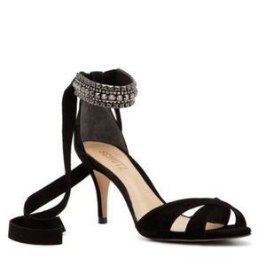 NWB Schutz Women's Euzalia Embellished Sandal 9.5M